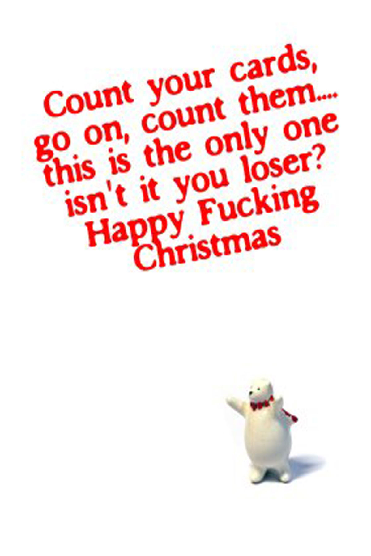 Get Revenge On Your Ex by sending this Christmas card
